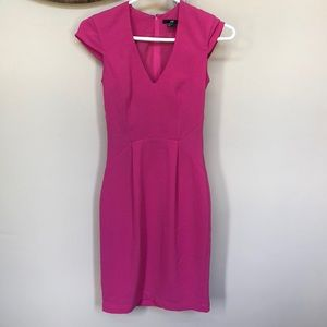 Pink H&M work dress